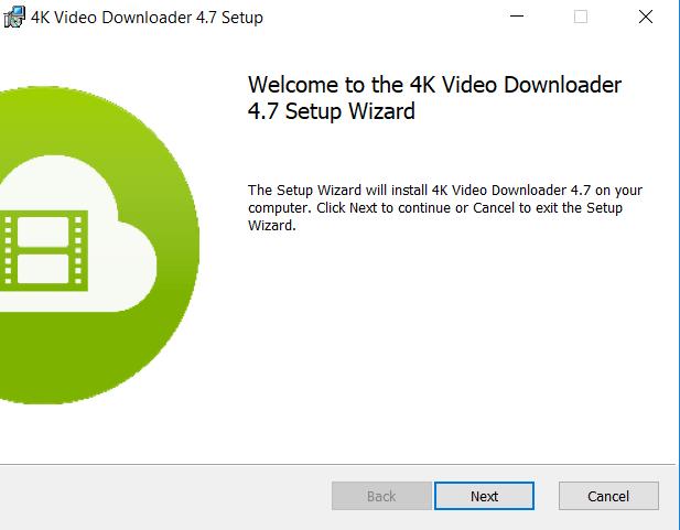 تركيب برنامج 4K Video Downloader