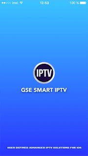 تطبيق GSE SMART IPTV على الايفون