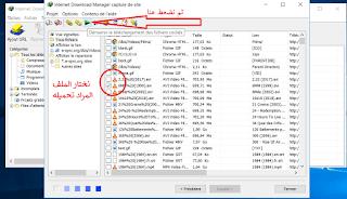 تشغيل خاصية Grabber على IDM