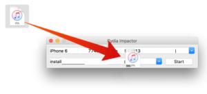 تركيب تطبيق يوتيوب بلس بأداة cydia imapctor