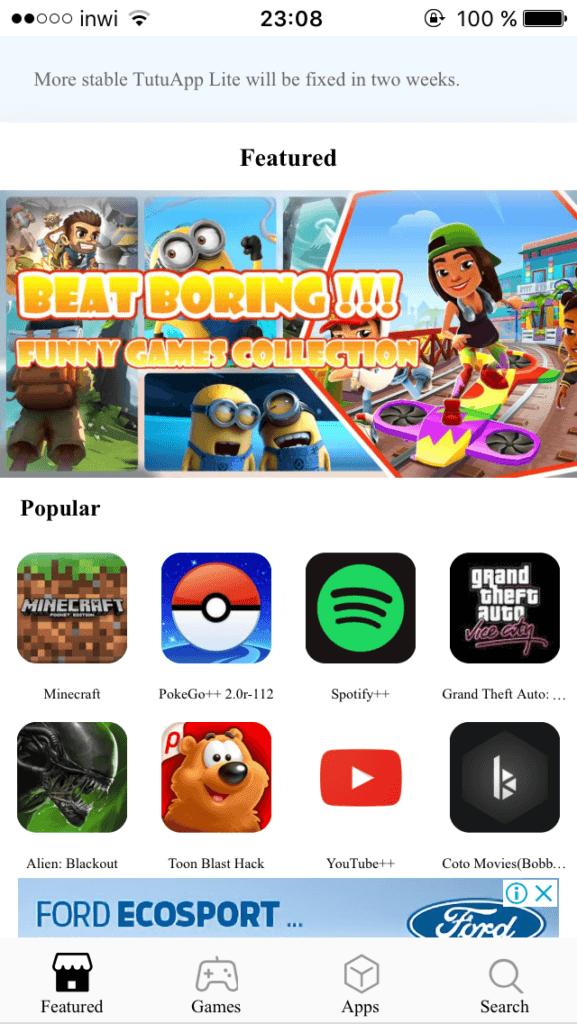 تطبيقات متجر الأرنب TutuApp