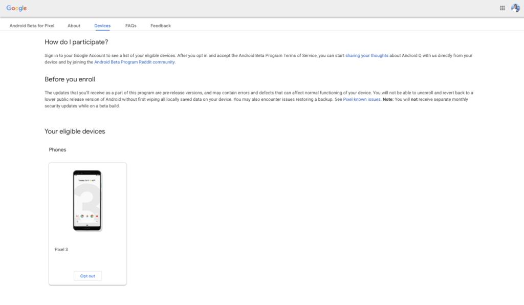 تحميل اندرويد Android Q Beta