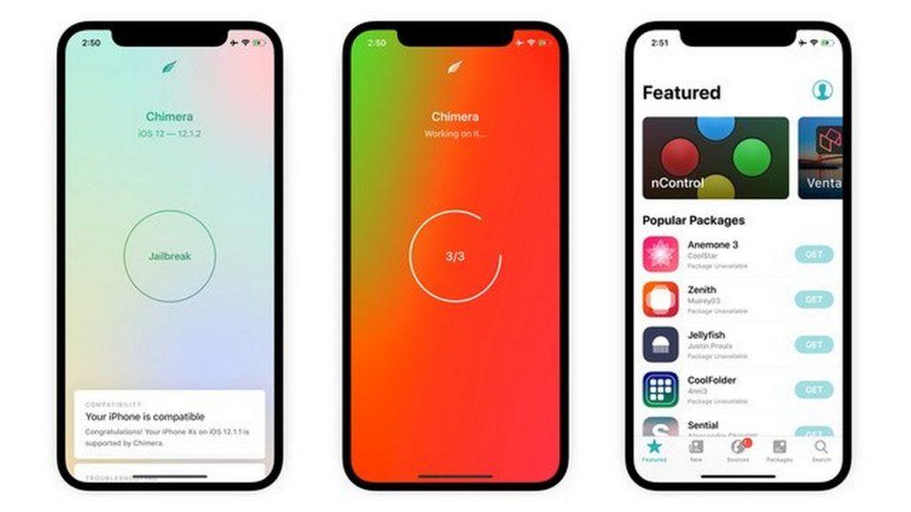 جيلبريك Chimera iOS 12.4