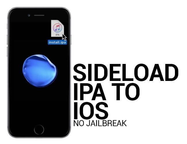 sideload ipa على أجهزة ios