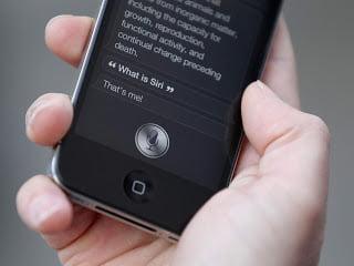 أداة siri على أجهزة iOS