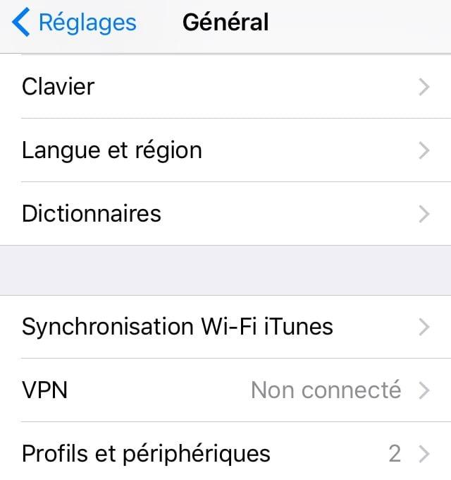 الوثوق بتركيب تطبيق على iOS