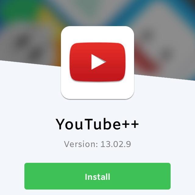 تركيب يوتيوب بلس من iOS Ninja