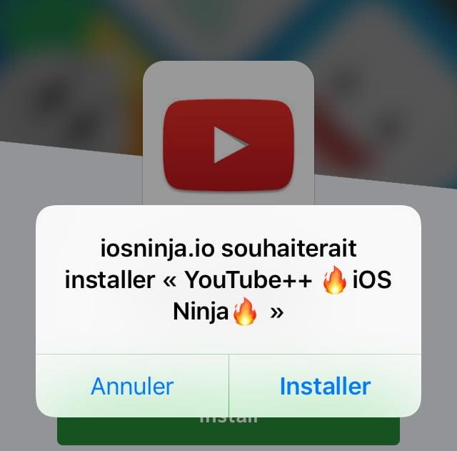 تثبيت متجر التطبيقات البديلة iOS Ninja على جهاز الايفون