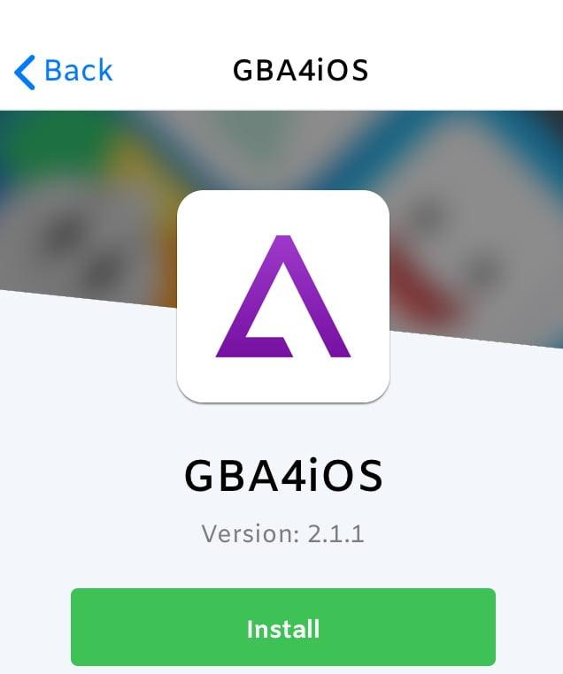 تحميل و تثبيت محاكي ألعاب GBA4iOS