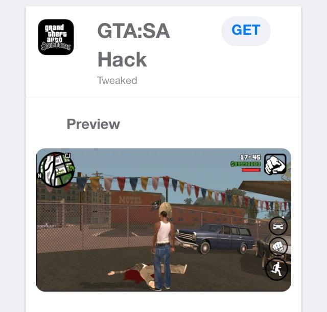 تنزيل هاك Grand Theft Auto: San Andreas Hack