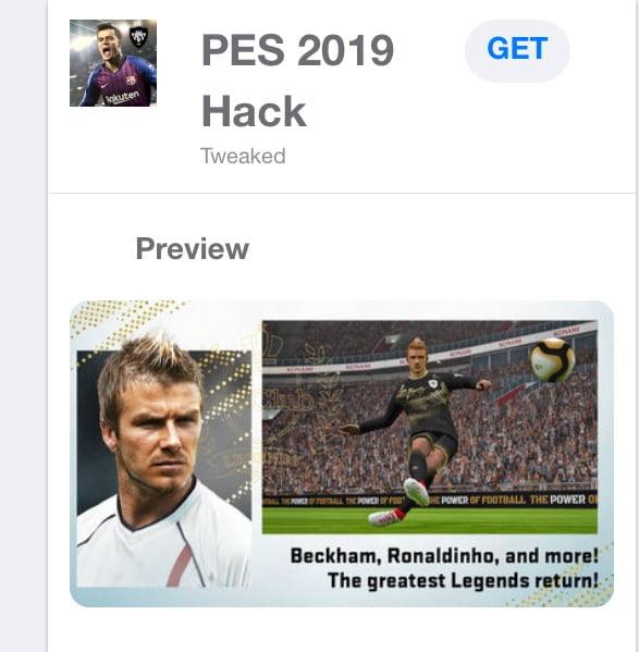 تحميل هاك PES 2019 Pro Evolution Soccer  Hack