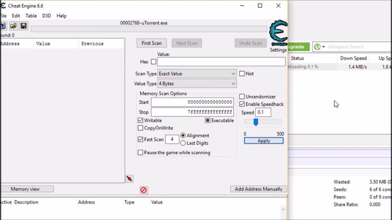 تحميل برنامج cheat engine 6.5 1