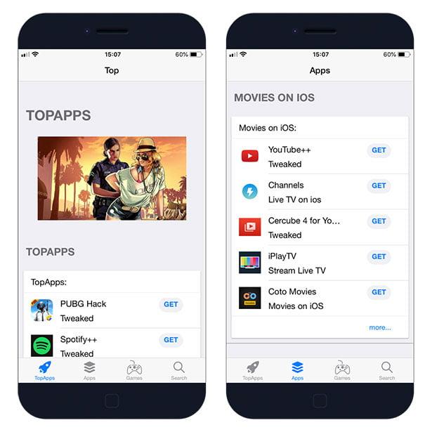 متجر TopStore iOS