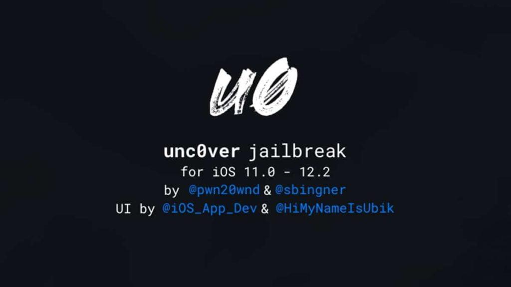 جلبريك unc0ver للنسخة iOS 12.1.3 – 12.2