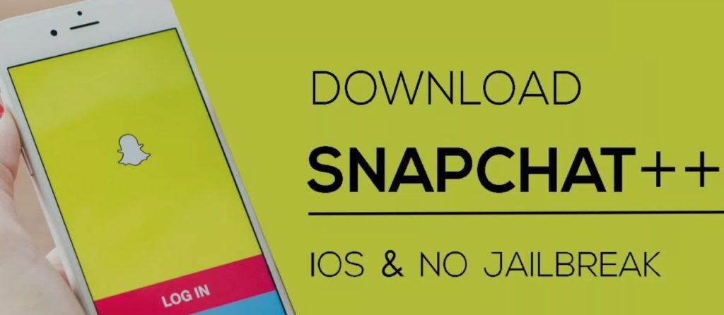 تنزيل ++ Snapchat على الايفون