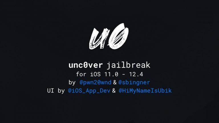 جلبريك unc0ver للنسخة iOS 12.4
