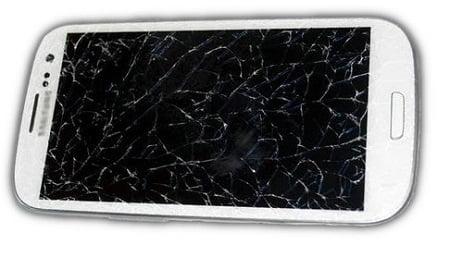 إصلاح شاشة هاتف نقال