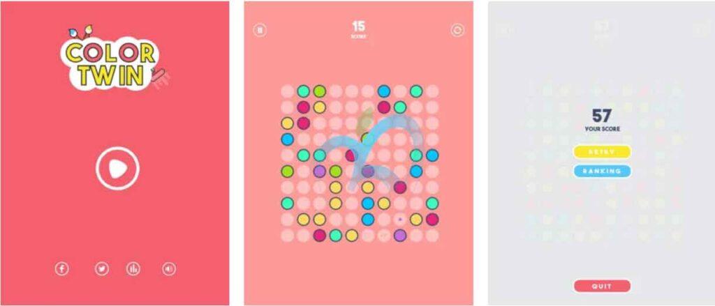 Color Twin تطبيقات iOS مجانية