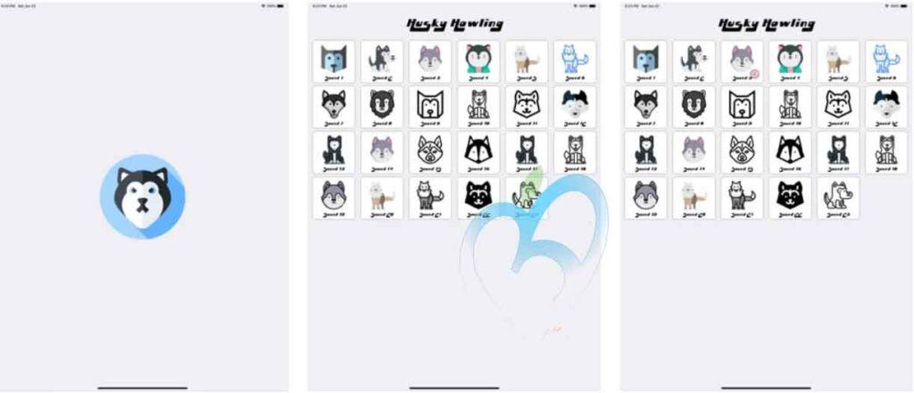 Husky Howling تطبيقات iOS مجانية