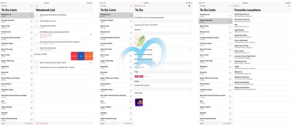 Super ToDo's تطبيقات iOS مجانية