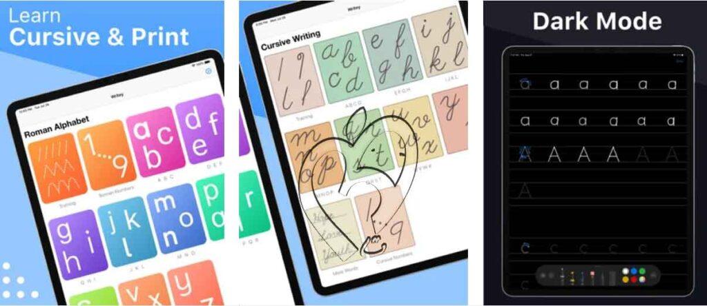 Writey - Practice Handwriting تطبيقات iOS مجانية